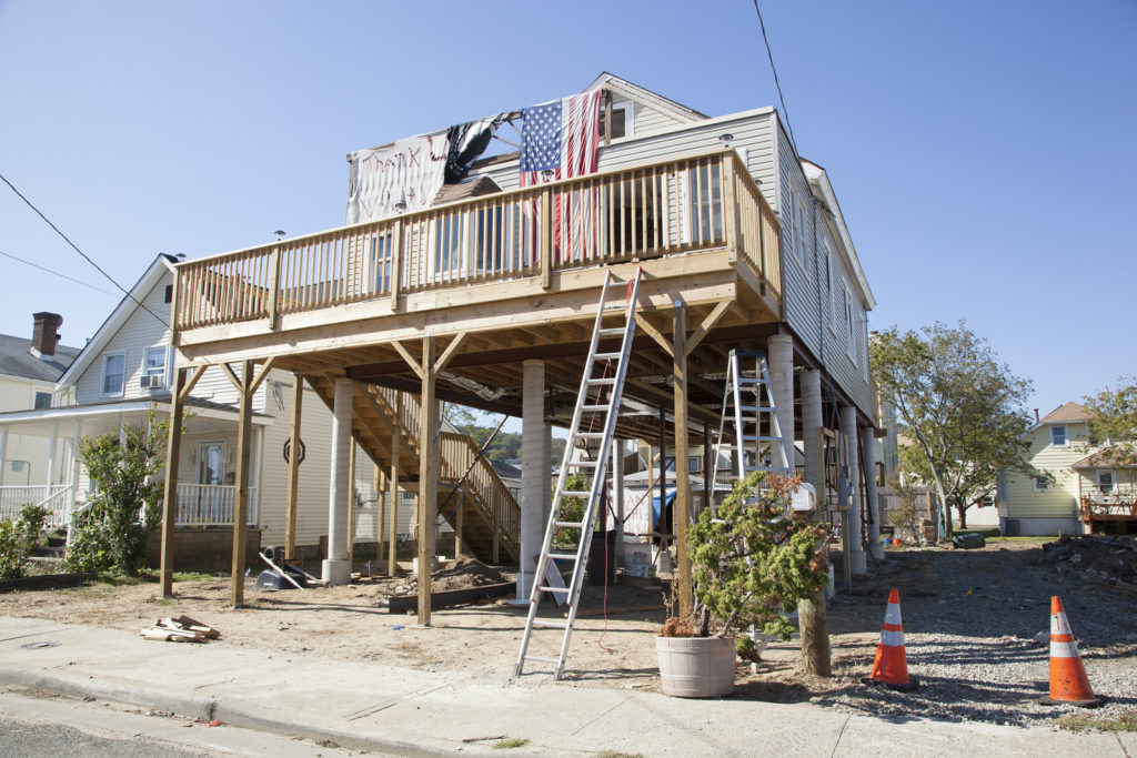 LBI house raising